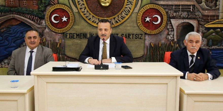 Vali Taşbilek'ten İl Genel Meclisi'ne iade-i ziyaret