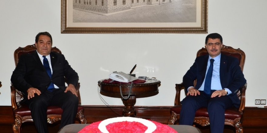 Milletvekili Fendoğlu'dan Ankara Valisi Şahin'e ziyaret