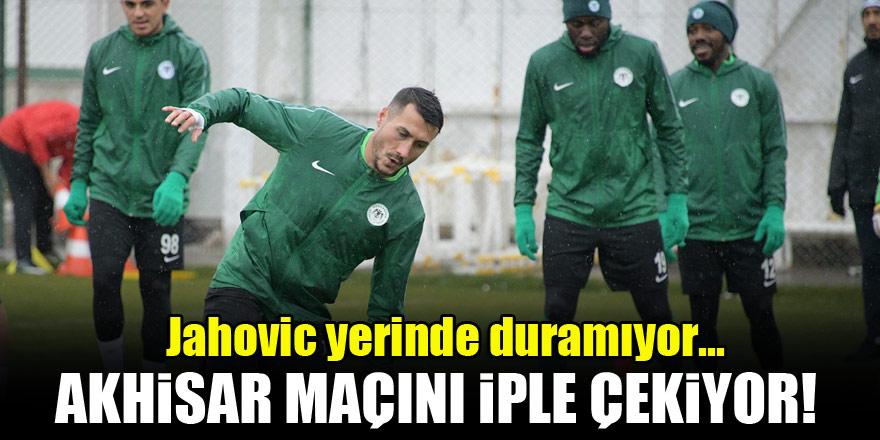 Konyaspor'da Jahovic yerinde duramıyor!