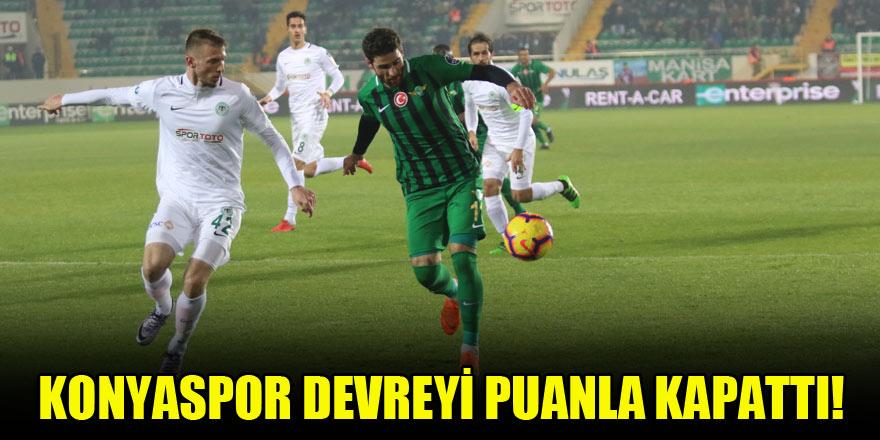 Atiker Konyaspor, Akhisar'dan puan koparttı!