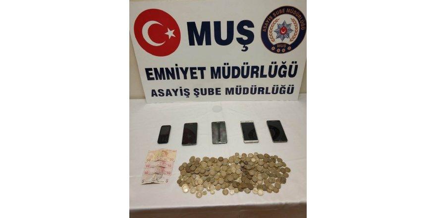 Muş'ta hırsızlık operasyonu: 3 tutuklama