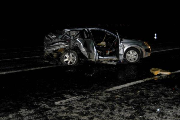 Akçakale'de kaza: 1 ölü, 11 yaralı