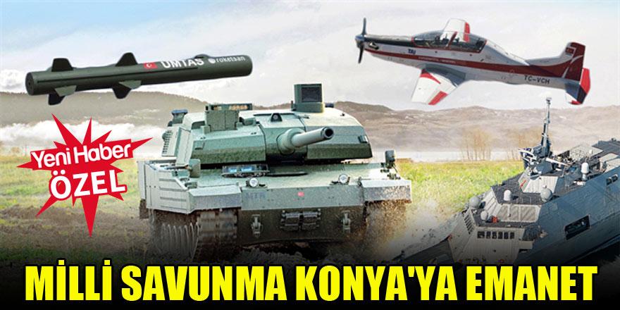 """""""Savunma sanayiinin merkezi Konya olacak"""""""