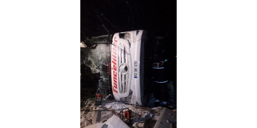 Kırşehir'deki otobüs kazasında hayatını kaybedenlerin kimlikleri belirlendi