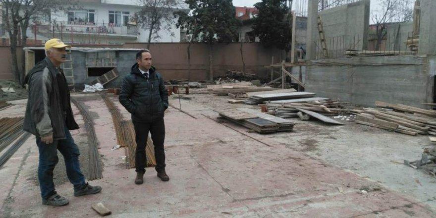 Yeni Anadolu Lisesi inşaatı hızla sürüyor