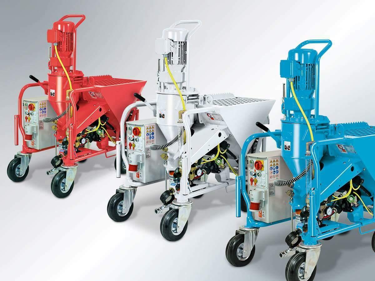 Sıva Makinelerinde Newton Makine Güvencesi