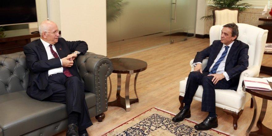 TSE Başkanı Şahin'den Başkan Yaşar'a ziyaret