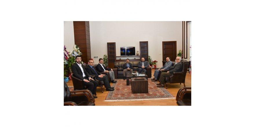 ETÜ Rektörü Çakmak'a tebrik ziyaretleri devam ediyor
