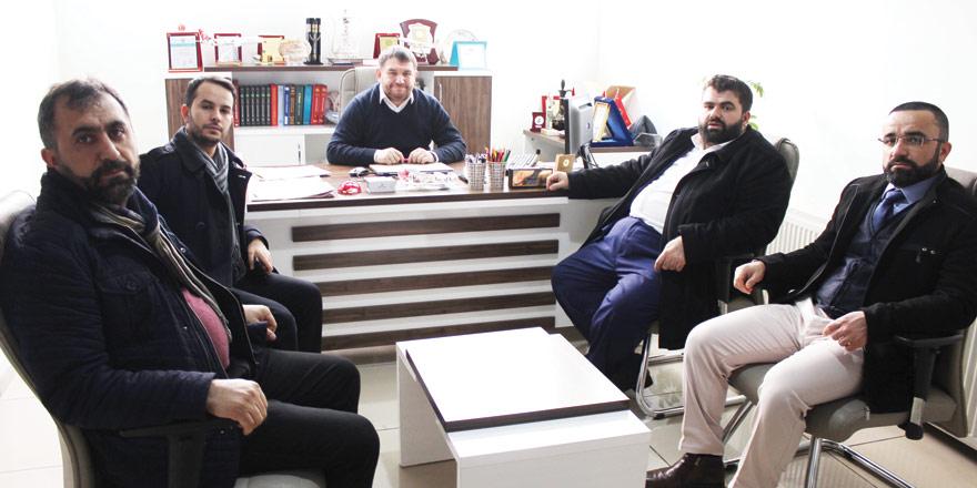 Anadolu Gençlik Derneği'nden Yeni Haber'e ziyaret