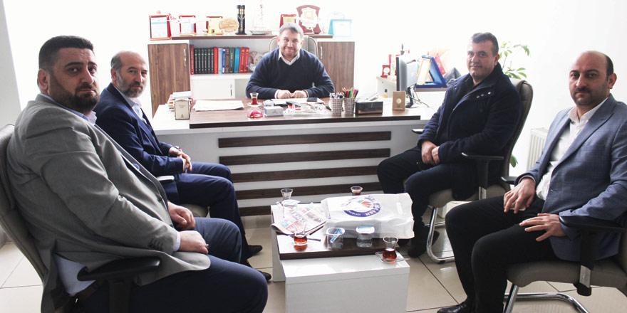 Yeni Haber'e Çalışan Gazeteciler Günü ziyareti