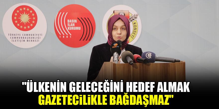 Leyla Şahin Usta: Ülkenin geleceğini hedef almak gazetecilikle bağdaşmaz