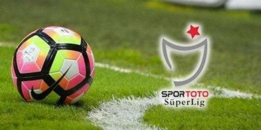Süper Lig'de 3 haftalık program açıklandı