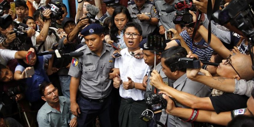 Myanmar rejects appeal of jailed Reuters journalists