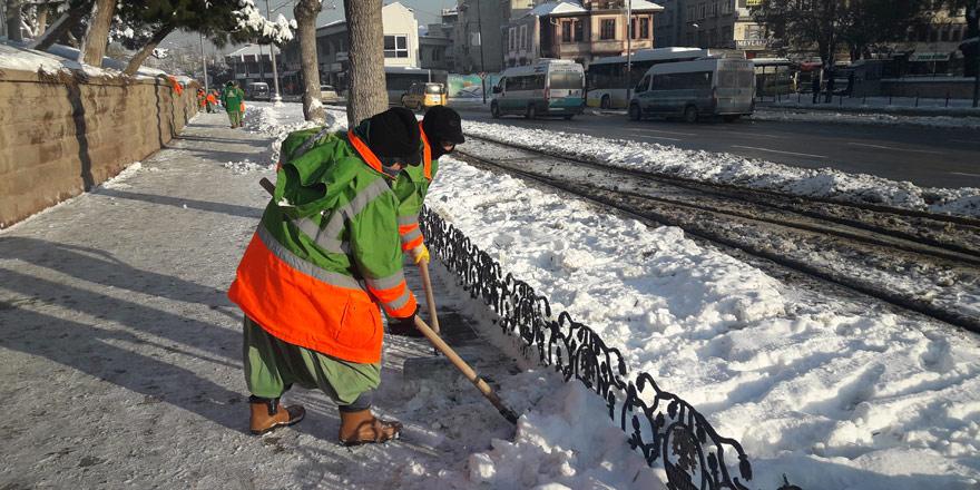 Kışın kadın savaşçıları