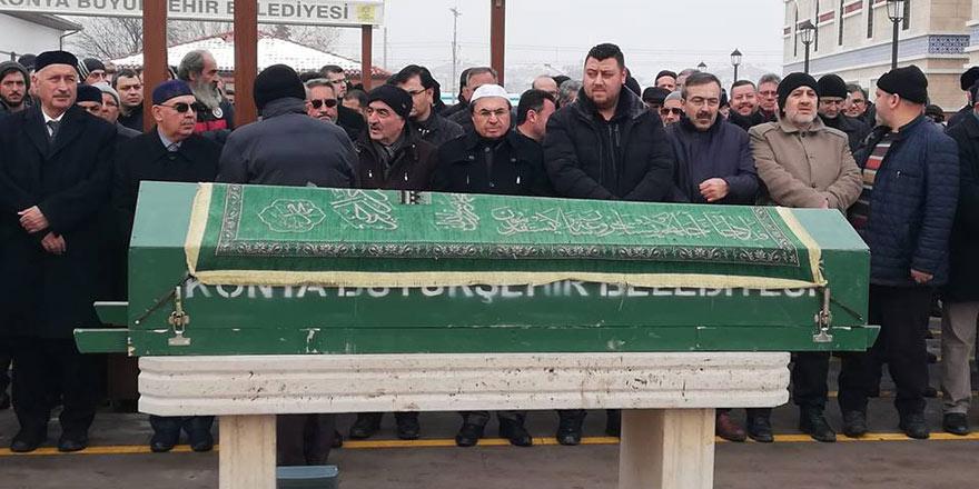 Doç. Dr. Ahmet Akman'ın babası toprağa verildi