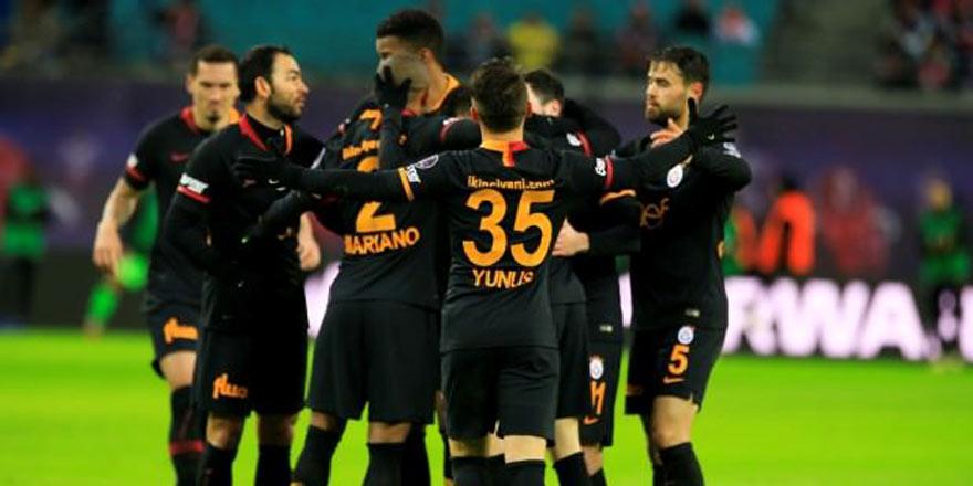 Leipzig Galatasaray'dan kaçamadı