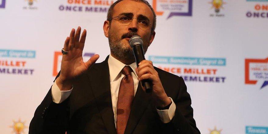 """""""Türkiye'ye tehdit oluşturan hiçbir terör unsurunu yaşatmayız"""""""