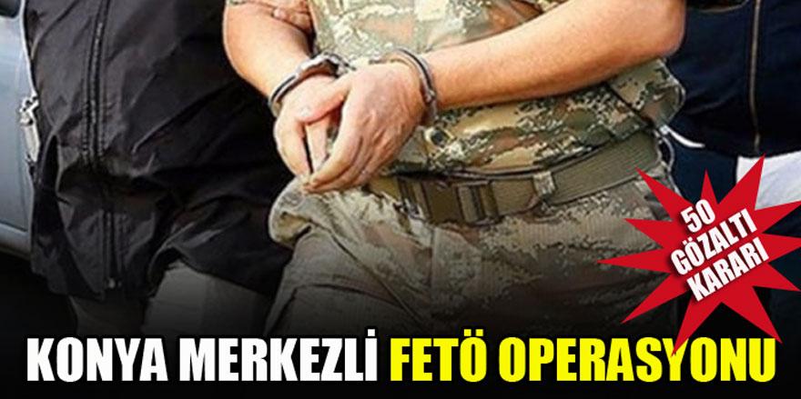 FETÖ'nün askeri mahrem yapılanmasına yönelik operasyon