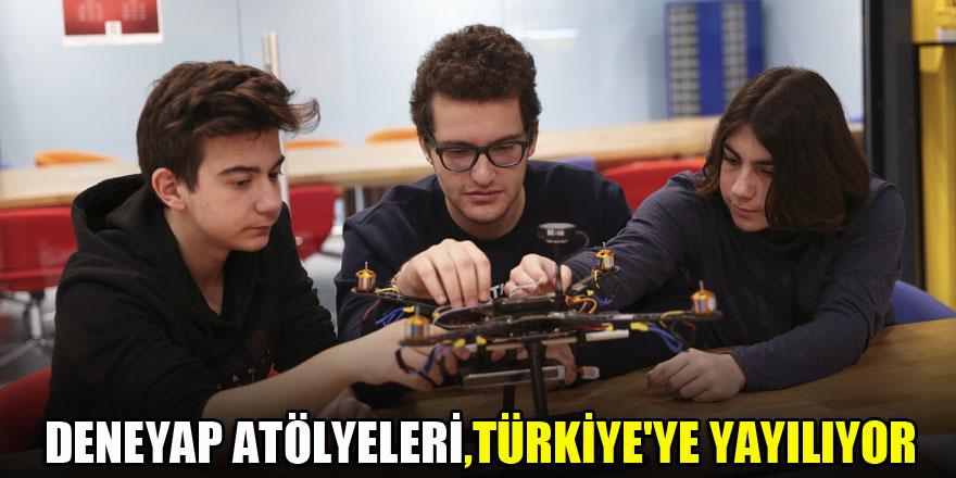 Deneyap Atölyeleri, Türkiye'ye yayılıyor