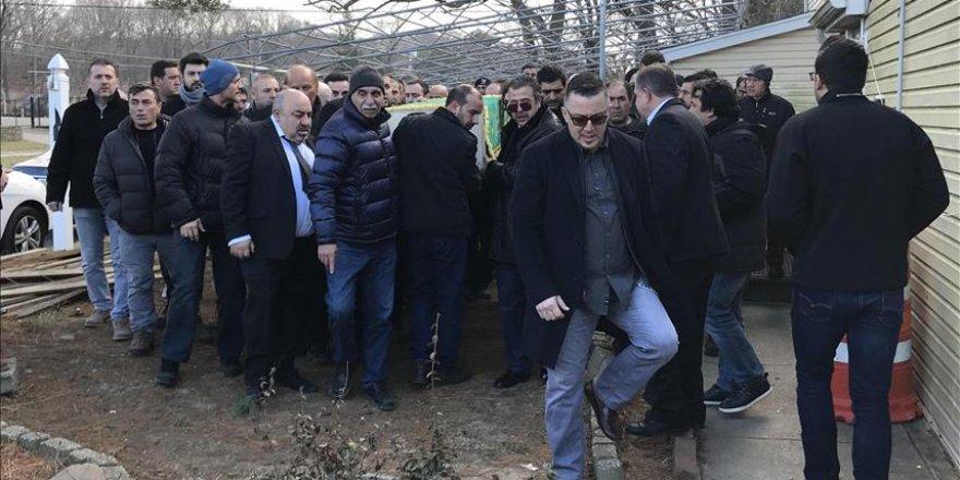 ABD'de 22 dolar için öldürülen Türk'ün cenaze namazı kılındı
