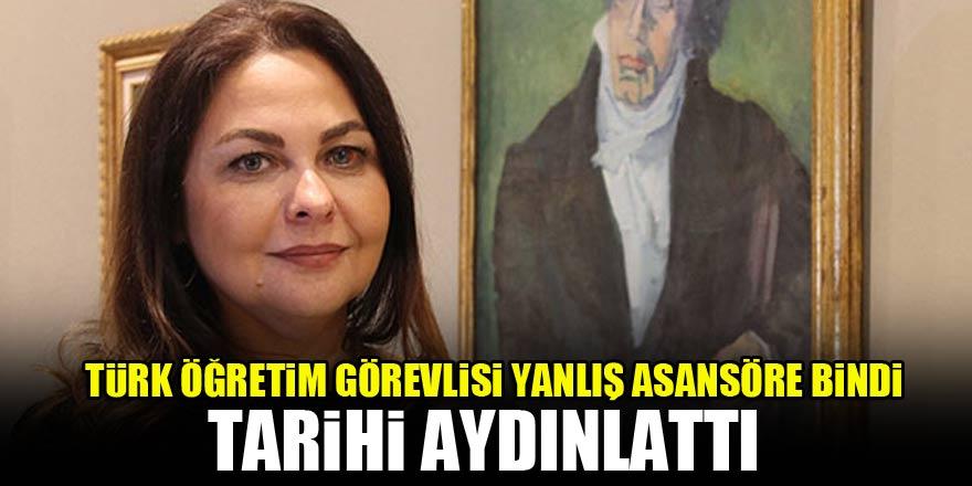 Türk öğretim görevlisi yanlış asansöre bindi, tarihi aydınlattı
