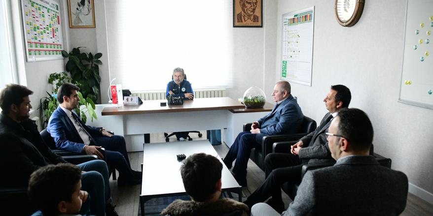 Emniyet müdüründen Konyaspor'a ziyaret