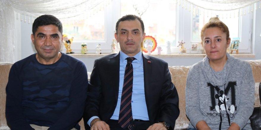 Emniyet Müdürü Ulucan, Şırnak gazisini ziyaret etti