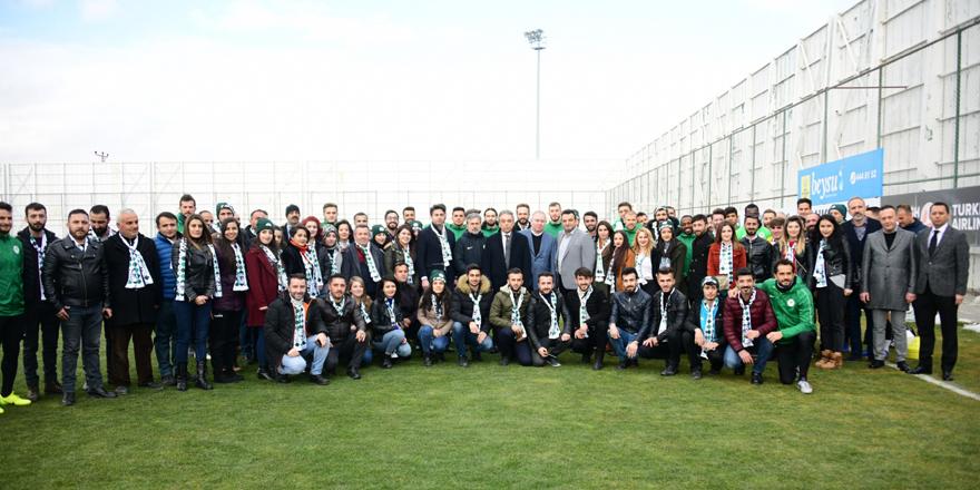 Reng-i Hakkari, Konyaspor'u ziyaret etti