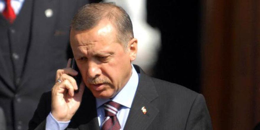 Erdoğan'dan Maduro'ya telefon