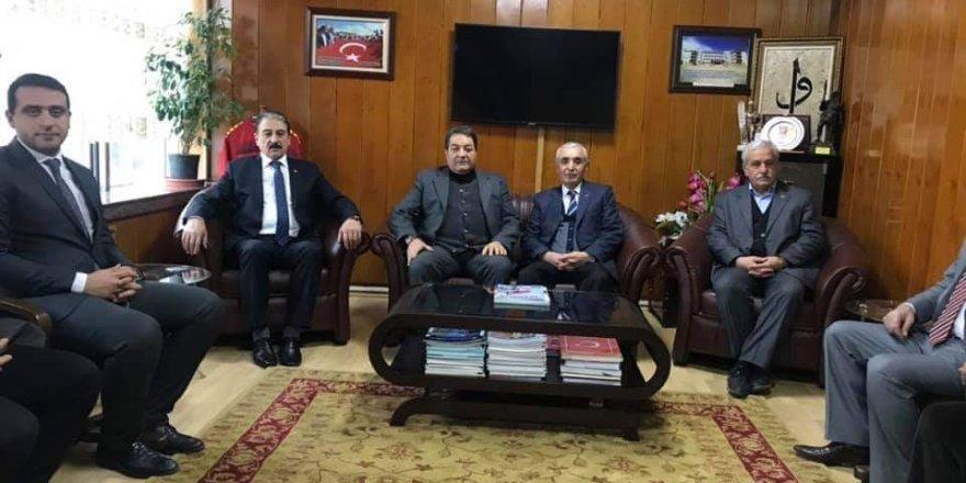 Milletvekili Fendoğlu'ndan esnaf kuruluşlarına ziyaret