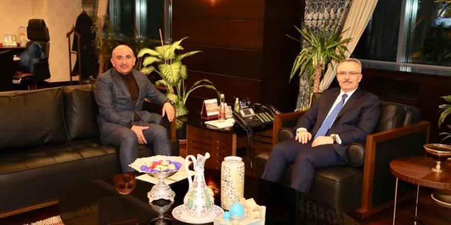 Belediye Başkanı Kara'dan Nacı Ağbal'a ziyaret