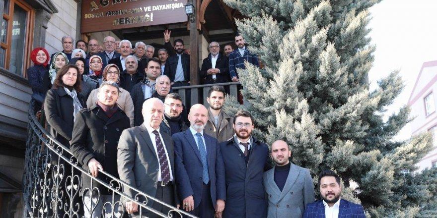 Başkan Çolakbayrakdar'a STK'lardan tam destek