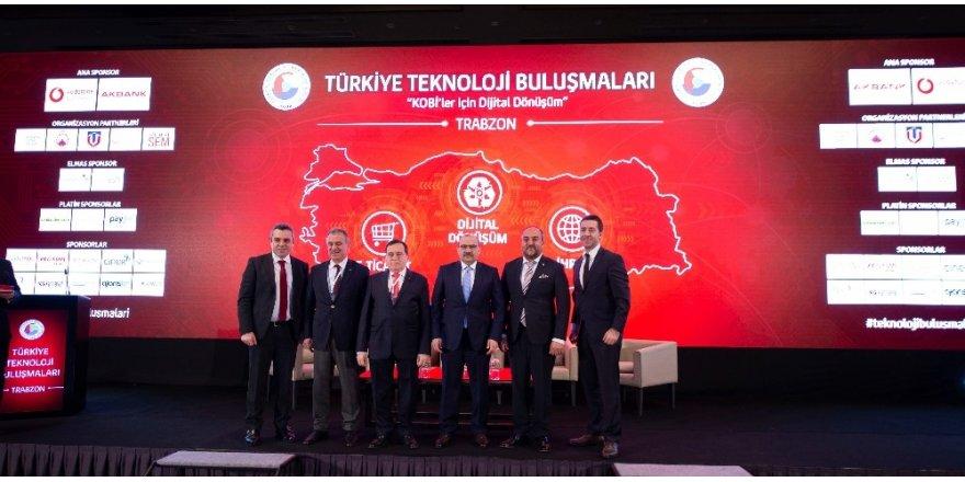 TOBB ve Vodafone Trabzon'da KOBİ'lerle buluştu