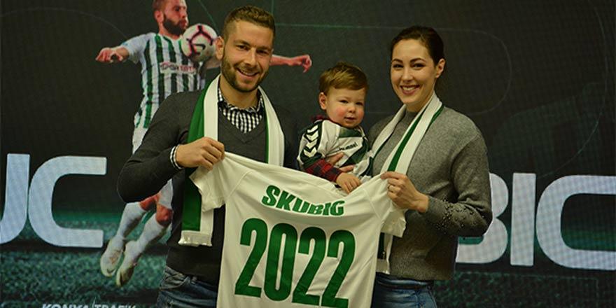 Konyaspor, Skubic ile nikah tazeledi!