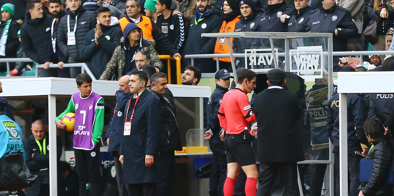 Konyaspor'dan hakemlere sert tepki!