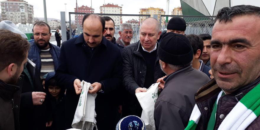Konyaspor bez torba dağıttı