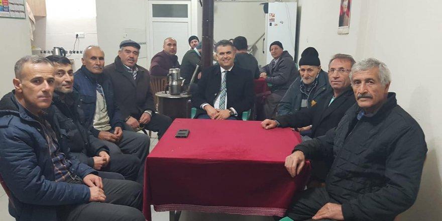 Kısa,Derebucak'ta yerel seçim çalışmalarını sürdürüyor.