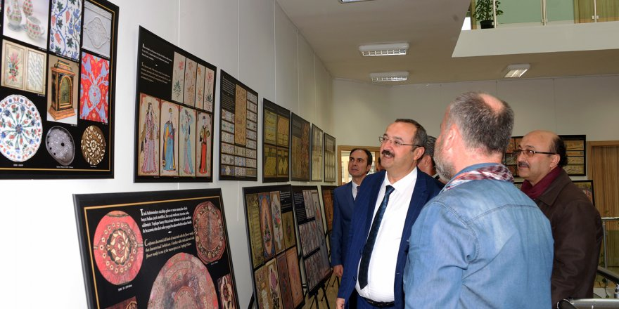 'Osmanlı Dönemi İstanbul'unda Bahçe ve Çiçek' Sergisi sanatseverlerle buluştu