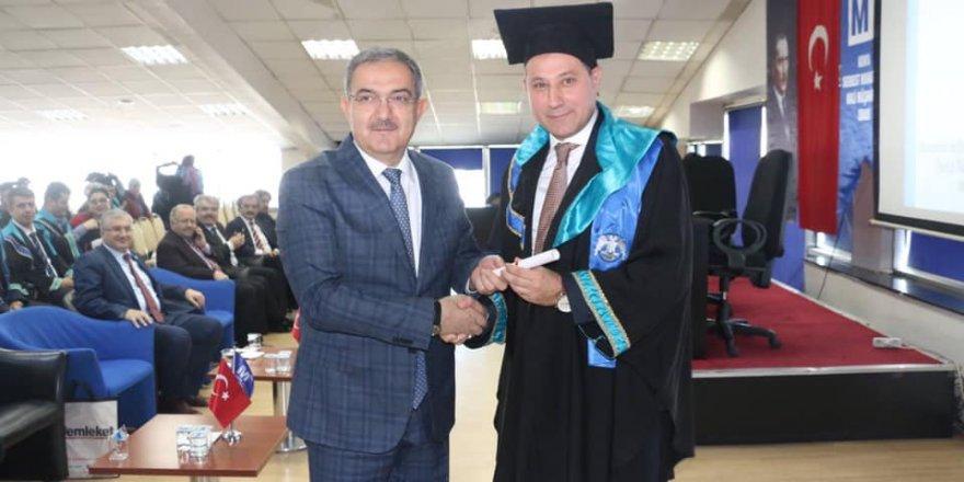 Muharrem Karabacak mezun oldu