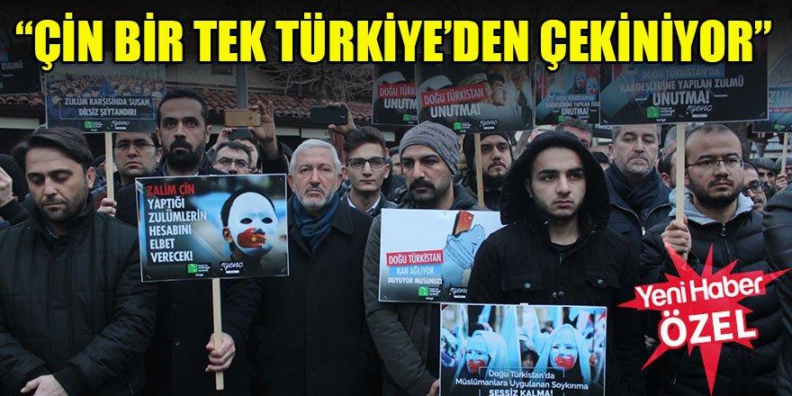 """""""Çin bir tek Türkiye'den çekiniyor"""""""