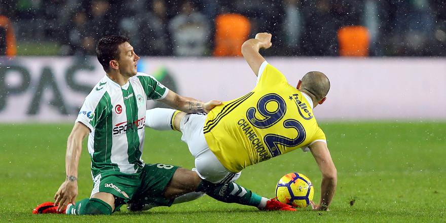 Konyaspor, Fenerbahçe ile 36. randevuda!