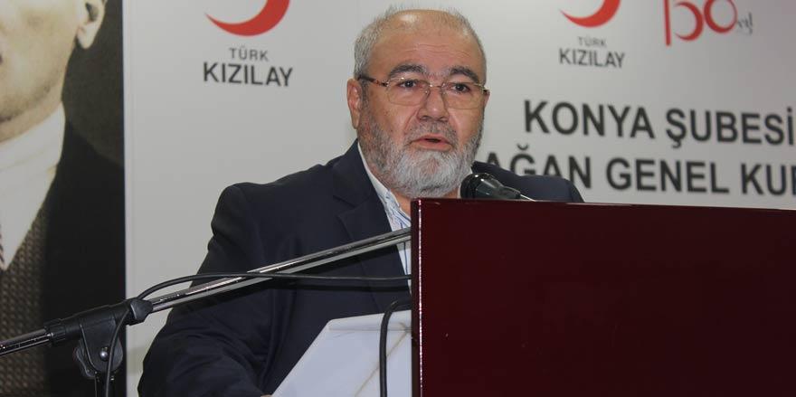 Türkiye Kızılay Derneği Konya Şubesi'nde Hüseyin Üzülmez dönemi