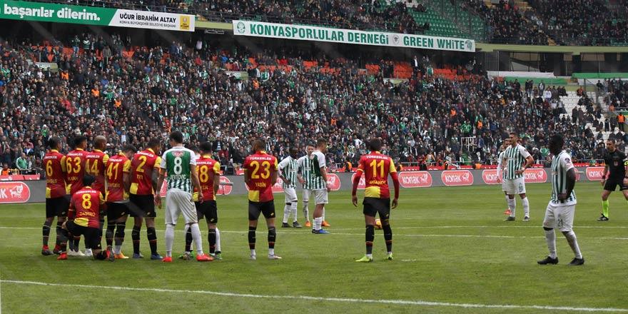 Konyaspor'da taktikler gol getirmedi