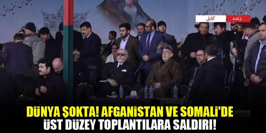 Dünya şokta! Afganistan ve Somali'de üst düzey toplantılara saldırı!