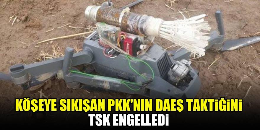 PKK'nın DAEŞ taktiğini TSK engelledi…