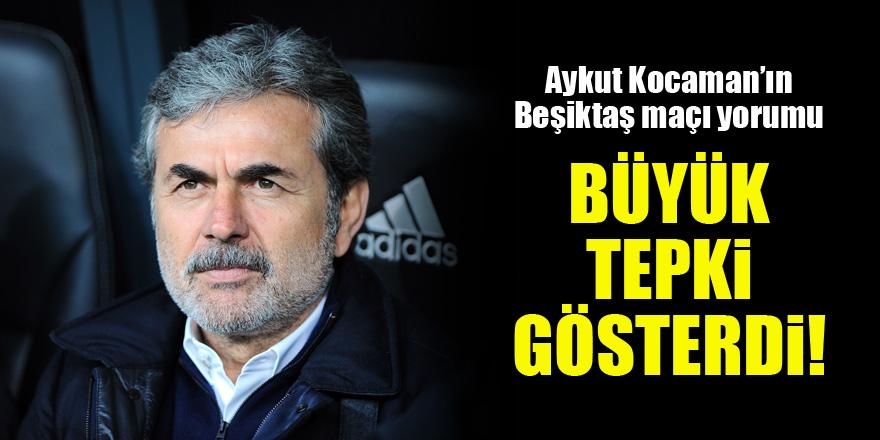 Aykut Kocaman'ın Beşiktaş maçı yorumu! Büyük tepki gösterdi