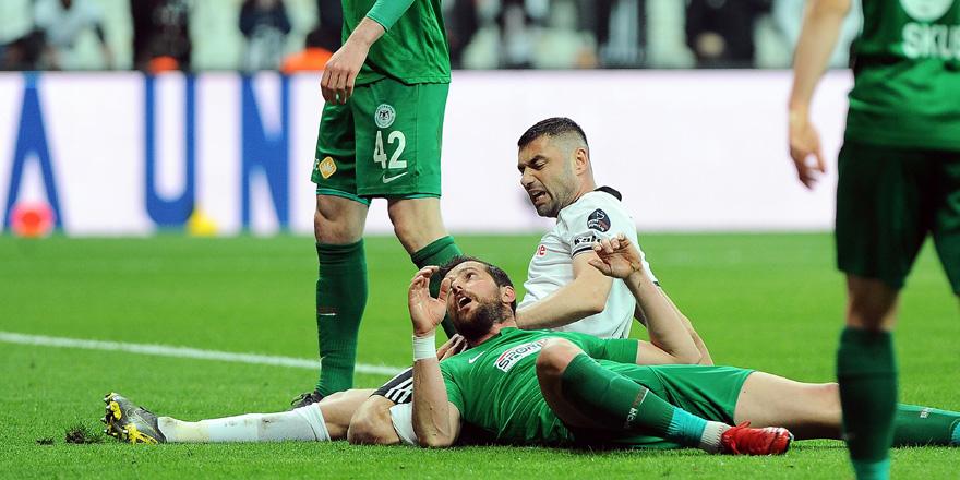 Konyaspor'un galibiyet hasreti 6 maça çıktı