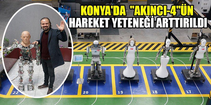 """Konya'da  """"Akıncı-4""""ün hareket yeteneği arttırıldı"""