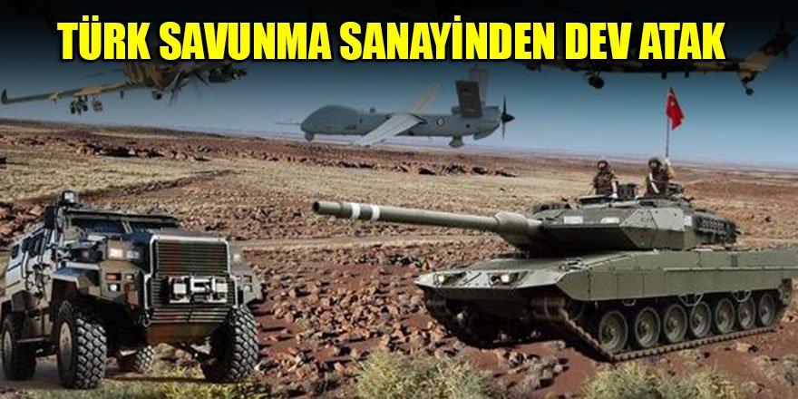 Türk savunma sanayinden dev atak…