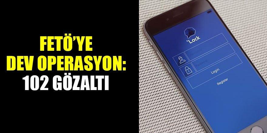 İstanbul'da ByLock kullanan 102 şüpheliye gözaltı kararı…
